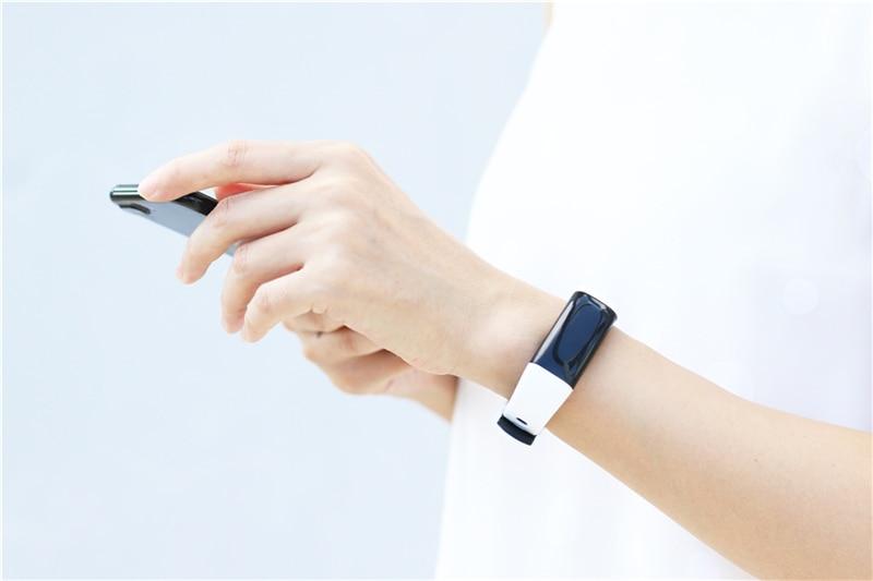 Купить смарт браслет uniqboom мужской с цветным экраном пульсометром