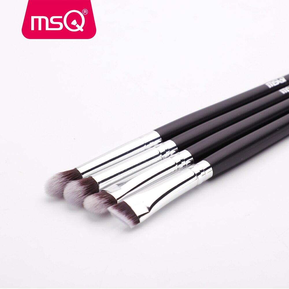 MSQ 4/15/19PCS Makeup Brushes Set Powder Foundation Eyeshadow Brush Make Up Kits Beauty Cosmetics Tools Natural & Synthetic Hair