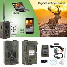 Câmera caça HC 550 M MMS Trail Caça Câmera 16MP 1080 P 0.5 s Gatilho Foto Wildlife Trail Armadilhas 120 graus Sensor de PIR câmera