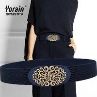 Luxury Brand Elastic Narrow Belt Elastic Belt Women's Belt Decorative Girdle Fashion Pants Belt Dress