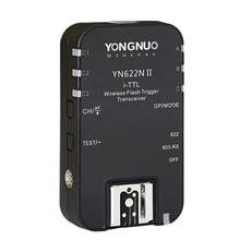 1 sztuk YONGNUO TTL Transceiver i ttl 2.4G bezprzewodowa lampa błyskowa wyzwalacz YN622N II HSS 1/8000 dla Nikon lustrzanka cyfrowa Speedlite SB910 SB900