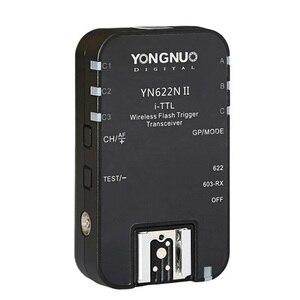 Image 1 - 1pcs YONGNUO TTL Transceiver i TTL 2.4G Wireless Flash Trigger YN622N II HSS 1/8000  For Nikon DSLR Camera Speedlite SB910 SB900