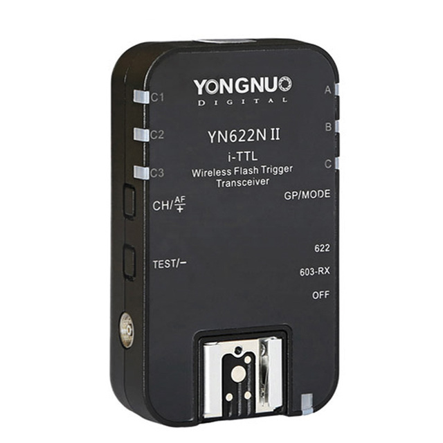 Беспроводной триггер для вспышки YONGNUO TTL i TTL 2,4G YN622N II HSS 1/8000 для Nikon DSLR Camera Speedlite SB910 SB900, 1 шт.