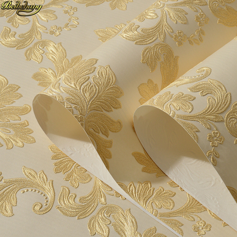 beibehang papel de parede para quarto em 3d Wall Paper Modern Pattern Paper Wallpaper Roll For living room Wall covering Decor beibehang roll papel mural modern luxury pattern 3d wall paper roll mural wallpaper for living room non woven papel de parede