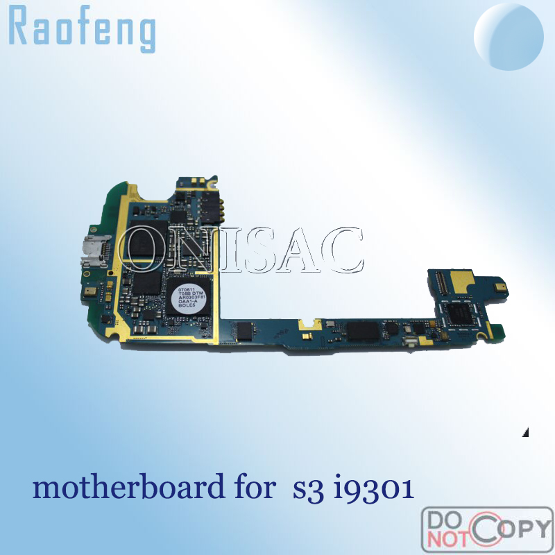 Raofeng Unlocked For Samsung Galaxy S3 Motherboard Suit I9301 Mainboard EU Version
