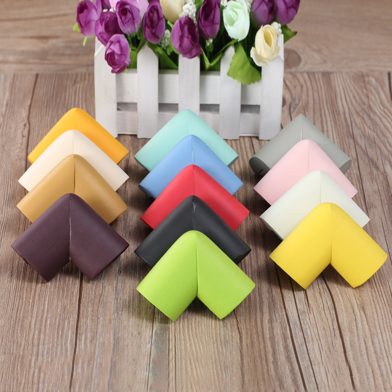 цена Colorful Baby Safety Edge Corner Guards Glass Table Baby Protection Anti-collision Furniture Corner Protector Child Protection