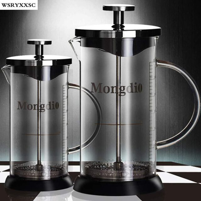 French Press Coffee Maker Flipkart : Aliexpress.com : Buy 350ml 600ml Pressure Pot Method French Press Coffee Pot Glass Tea Maker ...