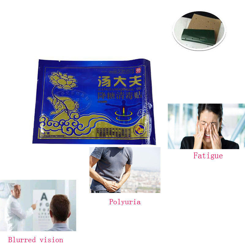 15pcs/3pack Type 2 Diabetes Patch Chinese Natural Herbal Medications Treatment Cure Diab ...