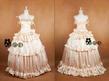 Oreimo Black Cat Gokou Ruri Anime Custom Made Champagne font b Dress b font Cosplay Costume