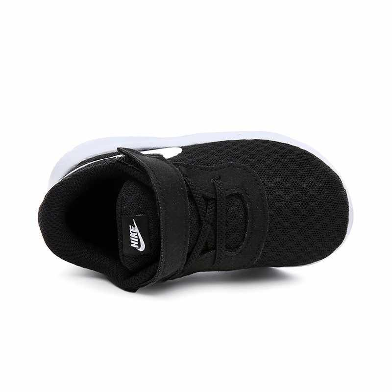 9887f994b145 ... NIKE Kids TANJUN New Arrival Baby Unisex Children Casual Shoes Outdoor  Running Shoes Breathable Hook Loop ...