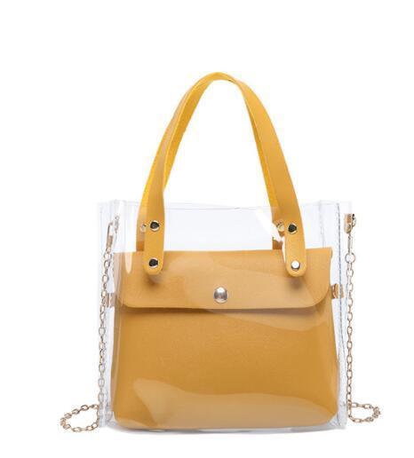 Transparent Shoulder Bag