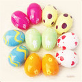 50pcs/ lot  Easter eggs as children's toys lottery props christmas decoration multicolor and varieties patterns