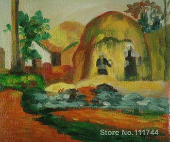 Beautiful Landscapes Fair Harvest Paul Gauguin painting for sale High quality Hand painted