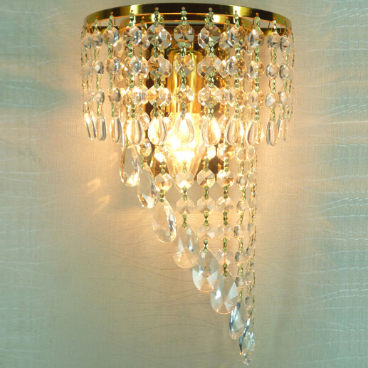 Free shipping 110-240V crystal wall sconce Modern Fashion Wall Lamps Bed-lighting Crystal E14 Wall Mounted LightsFree shipping 110-240V crystal wall sconce Modern Fashion Wall Lamps Bed-lighting Crystal E14 Wall Mounted Lights