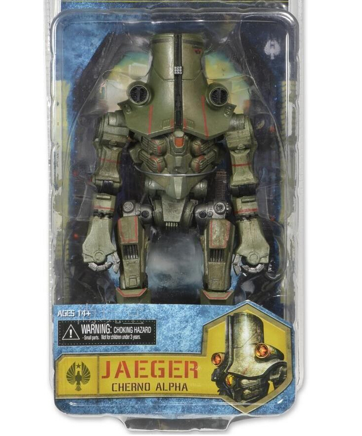Hot Sale Anime 17cm Pacific Rim Cherno Alpha Coyote Tango Action Figures PVC brinquedos Collection Figures toys with Retail box