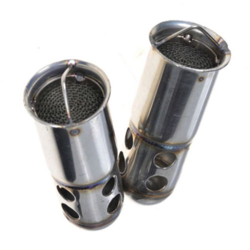 1pc 126mm Stainless Steel Motorcycle Exhaust DB Killer Silencer Muffler Baffle