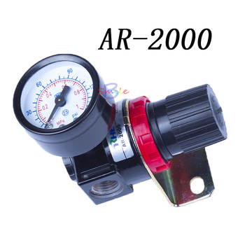 Pneumatic Parts New Air Control Compressor Relief Regulating Pressure Regulating Valve AR2000 hyvst spray paint parts pressure control valve assembly for spt1250 310 19032000