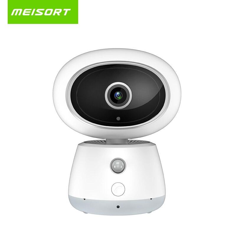 Meisort IP-камера 1080 P 2.0mp беспроводной домашней ночного видения видеонаблюдения с подкладкой аудио активный Вызов камеры радионяня