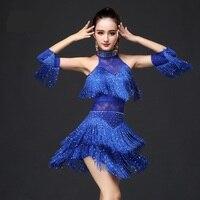 Latin Dance Dress Women/Girls/Lady New Sexy Fringe Salsa Ballroom Tango Cha Cha Rumba Samba Latin Dresses For Dancing