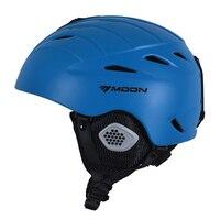 MOON New Arrival Adult And Kids Ski Helmet Ultralight Ski Snowboard Helmet Snow Helmet Ultralight PC