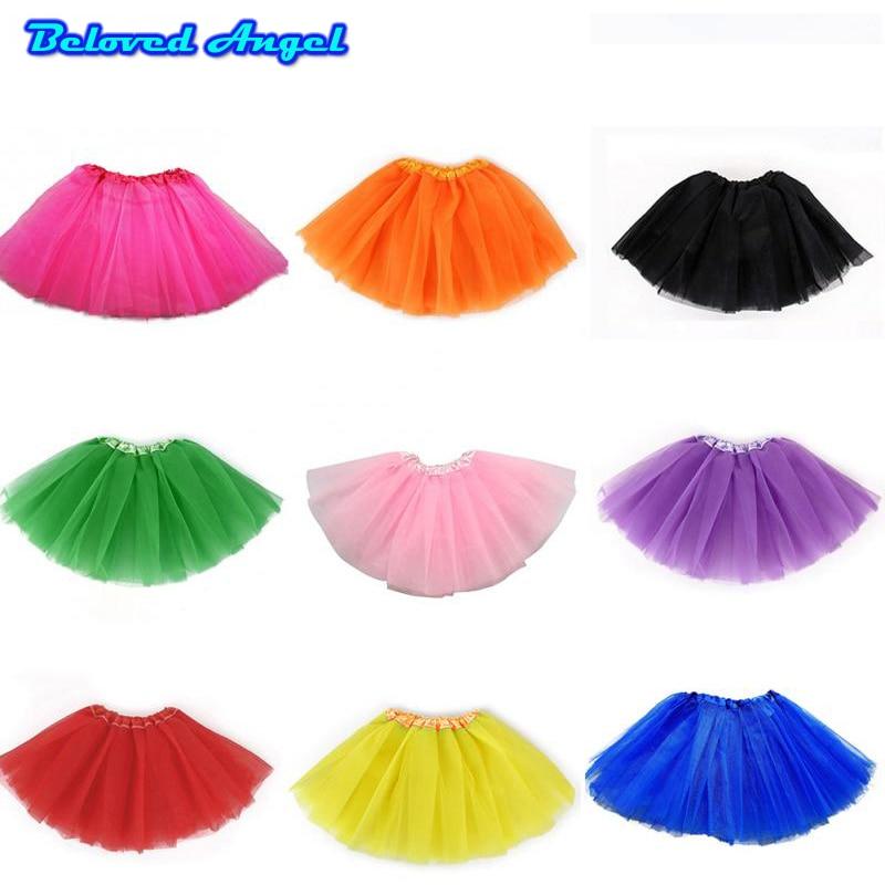 Toddler Girl/'s Baby/'s Fluffy Pettiskirt Tutu Princess Skirt Dancewear Party 0-8T