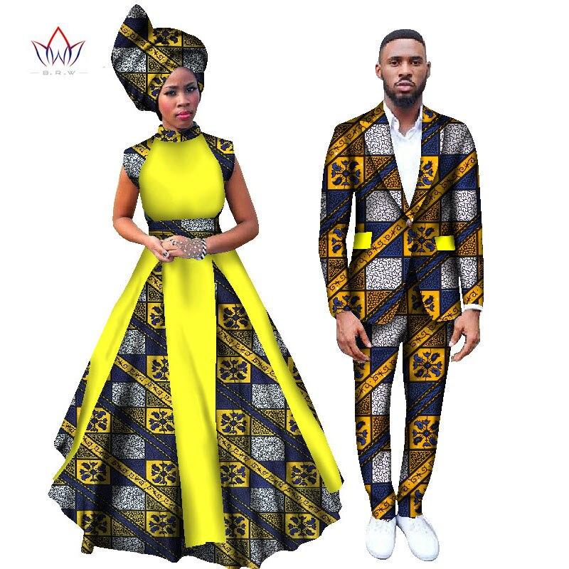 2017 Женский блейзер и платья для мужчин, комплект женской одежды с принтом в африканском стиле Анкары, длинная рубашка Дашики, платье большог