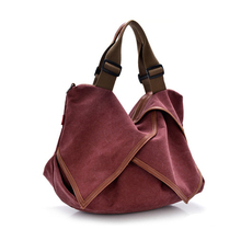 2016 Fashion Korean Version Designer Handbag Diagonal Retro Casual Canvas Cross Body Shoulder Bag Women Messenger Bags Tote Bags