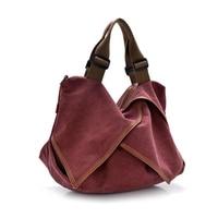 2016 Fashion Korean Version Designer Handbag Diagonal Retro Casual Canvas Cross Body Shoulder Bag Women Messenger Bags Tote Bags