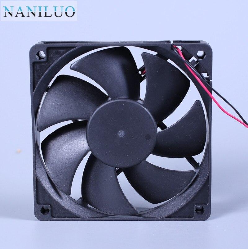 NANILUO  Original  AG12024XB257100 DC24V 0.46A 120*120*25MM 12CM Inverter Cooling Fan