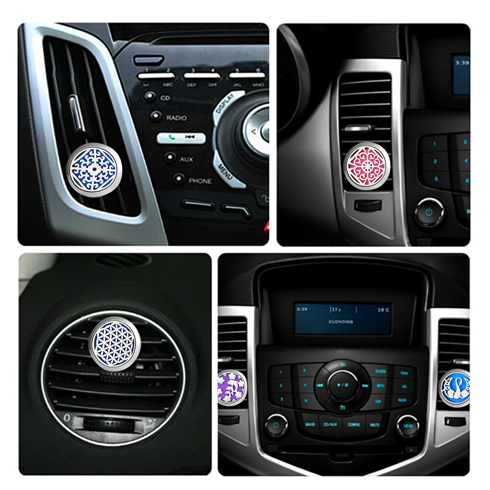 Car Air Freshener Car Perfume Diffuser Clip Car Air Auto Vent Freshener Essential Oil Gift Locket Decor accesorios automovil