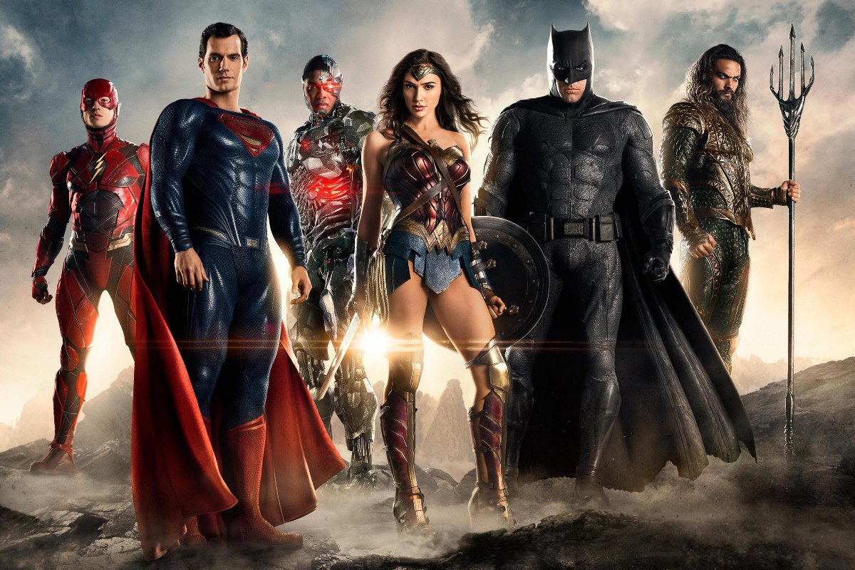 justice league 2017 movie fantasy wallpaper KC032 living room bedroom home wall modern art decor wood frame posters