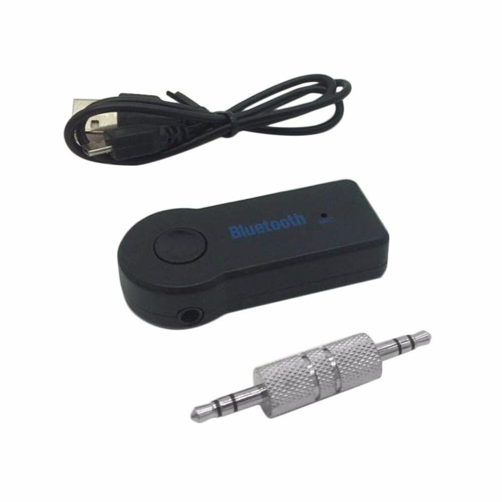 Adaptador Receptor sem fio Bluetooth V3.0 Car AUX Áudio Estéreo de 3.5 MM Adaptador de Áudio de Música Hands-free Car Bluetooth Construir-no Microfone