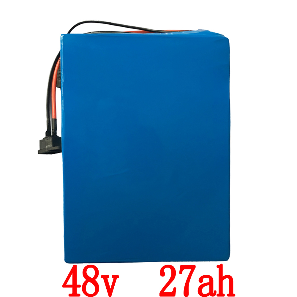 Free Shipping Battery 48v 27ah 1500W for LG 18650 Lithium Battery 48v with 2A Charger 50A BMS e-Bike Battery 48v free customs taxes super power 1000w 48v li ion battery pack with 30a bms 48v 15ah lithium battery pack for panasonic cell