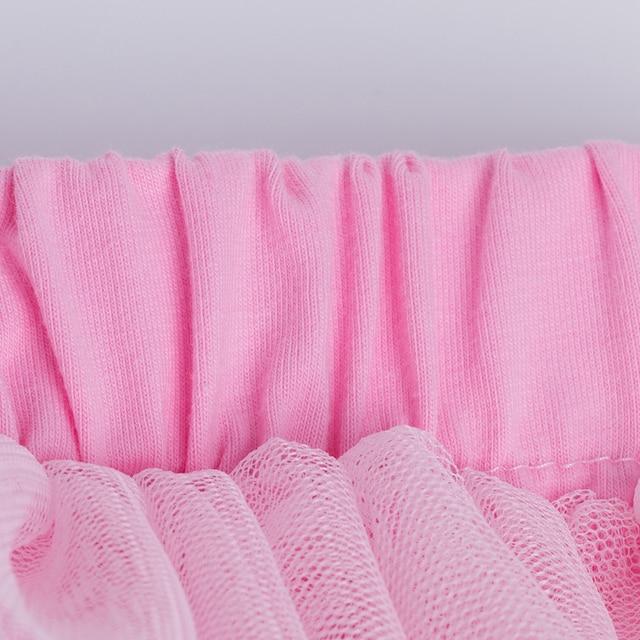 Birthday Cake Baby Girl Clothing Set Newborn Cotton bodysuits+Pink Tutu Skirt+Leg warmers+headband 4pcs/Sets Infant Clothes 3