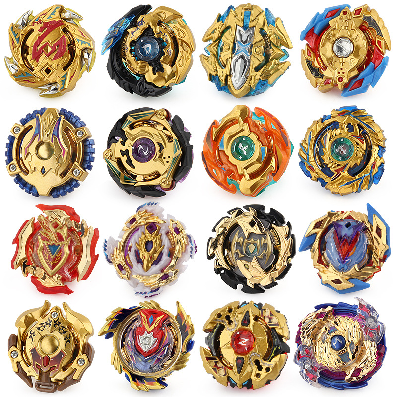 Gold series All Models Launchers <font><b>Beyblade</b></font> <font><b>Burst</b></font> GT Toys Arena Bayblade Metal God Fafnir Spinning Top Bey Blade Blades Toy image