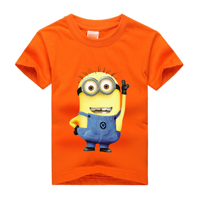 Memon new style Kids summer T shirt Cotton Short sleeve kids T-shirt 8 color kids cloth for 3-14 years children