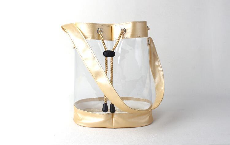 Cosmétique Personnaliser Vin Élégant Premium Sac Seau Clair Sacs Pvc Transparent Cadeau 4rn6rXxqfw