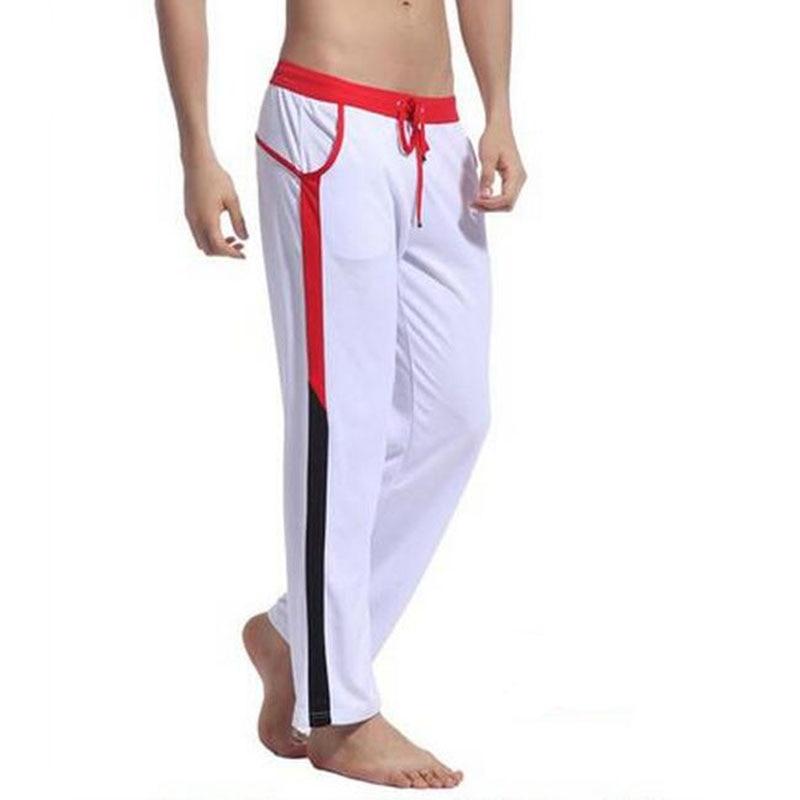 KWAN.Z pijama masculino celos pants pyjama mens sheer home clothes mens pajamas lounge pants pantalon hombre nightwear man