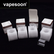 Original VapeSoon 3pcs/lot Replacement Glass Tube For Smoant Battlestar RTA 3.5ML TANK Retail Package