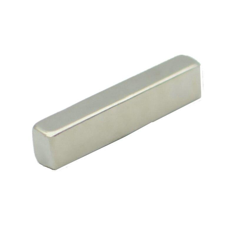все цены на 10-600pcs N48SH NdFeB Magnetic Block 36x6x8 mm Poles on Sides High Temp Strong Neodymium Rare Earth Permanent Industrial Magnet онлайн