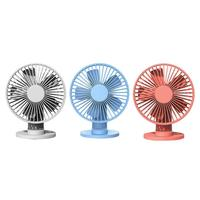 Xiaomi VH Portable USB Mini Fans Desktop Clamp Fan 2000mAh Rechargeable Cooling Fan Ventilador 3 Speed Air Cooler for Summer