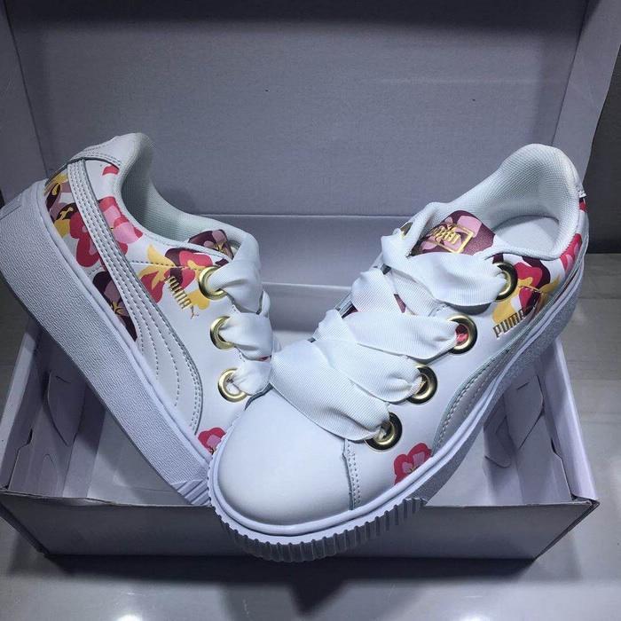 Arrival Original PUMA Rihannas Womens shoes Pescara kawasaki Breathable Sneakers Badminton Shoes size36-39