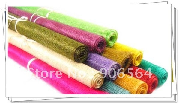 Free shipping 16 colors selected sinamay material,Nice linen material,Good for making hair accessories/fascinators,2 meters/lot