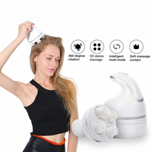 New Smart 4D Head Massager Electric Scalp Massager Pressure Points To Relieve Stress Promote Blood Circulation Hair Growth 110v 220v electric waist massager relieve physical tired leg arm massager enhance blood circulation lose weight