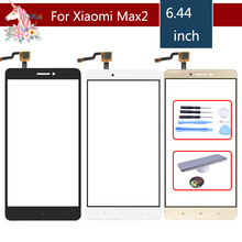 10pcs/lot TouchScreen For Xiaomi Max2 Mi Max 2 Max2 MiMax2 Touch Screen Digitizer Touch Panel Sensor Front Glass Replacement 10pcs lot new touch screen panels for garmin zumo 340 ce lifetime gps touchscreen digitizer panel replacement