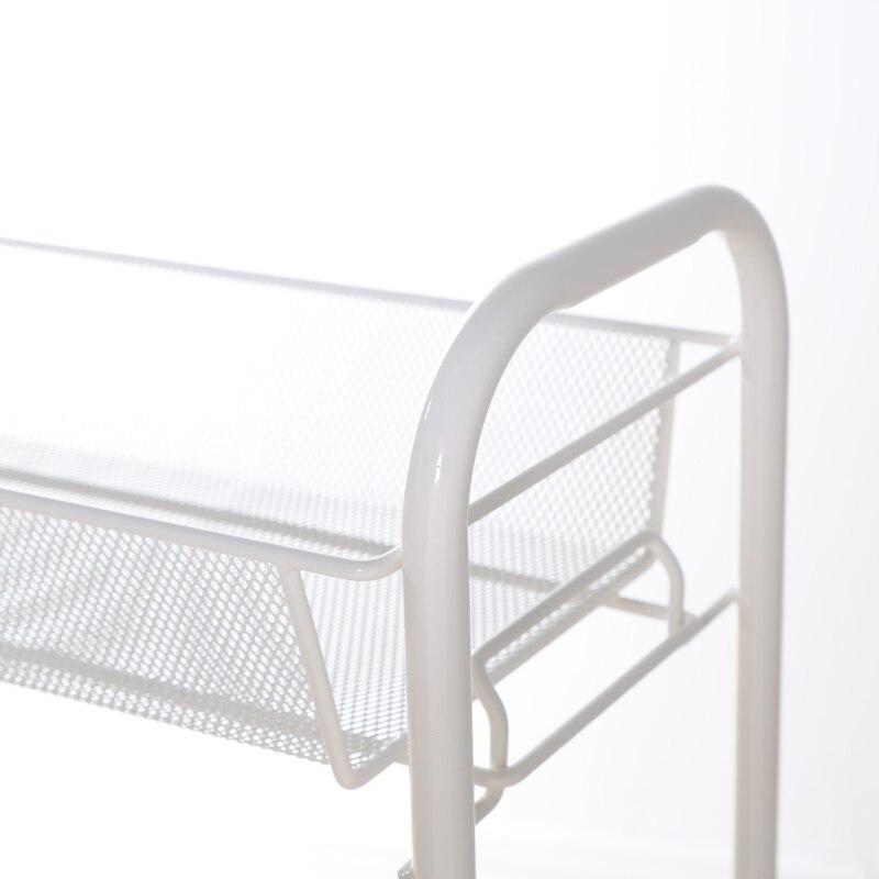 Купить с кэшбэком Multi-functional storage rack with pulleys, kitchen carts, storage spice racks