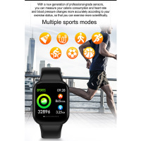 Smart Bracelet Fitness Activity Bracelet Watch Heart Rate Monitor Color Screen Basketball Soccer Multi Sport Mode SP99