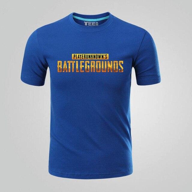 Футболка с принтами игры Playerunknown's Battlegrounds в ассортименте 2
