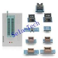 Free shipping XGECU V9.00 MiniPro TL866II Plus TL866A Nand Flash 24 93 25 BIOS USB EEPRO AVR Universal Programmer+10adapters