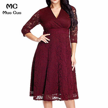 2018 3/4 Sleeves Burgundy Mother of the Bride Dresses with Lace dress for Graduation Mother of the Bride Dresses for weddings